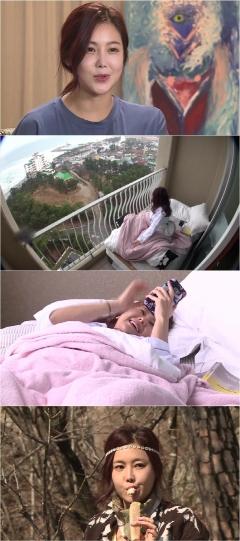 '나 혼자 산다' 솔비, 베란다 침실서 기상…'속초 보헤미안' 라이프 공개