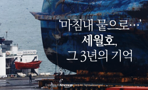 '마침내 뭍으로…' 세월호, 그 3년의 기억