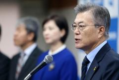"""'新중년' 공략 나선 문재인…""""5060 일자리 안전망 국가 지원"""""""