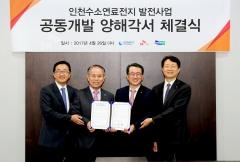 SK건설, 20㎿급 부생수소 연료전지 발전소 사업 추진
