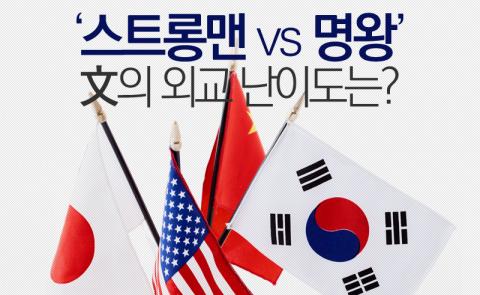'스트롱맨 vs 명왕' 文의 외교 난이도는?