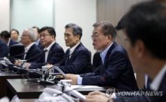 """북한, 탄도미사일 발사…文대통령 NSC 열고 """"도발에 단호히 대응""""(종합)"""