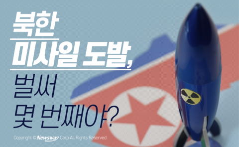 북한 미사일 도발, 벌써 몇 번째야?