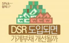 [상식 UP 뉴스] DSR 도입되면 가계부채 개선될까