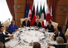 "G7 ""북한, 핵·미사일 포기하지 않으면 제재 강화"""
