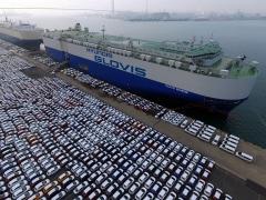 자동차 수출 4개월 연속 오름세…내수·생산은 감소