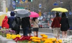 전국 흐리고 비…낮 최고기온 28도