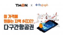 """티몬, 다구간 항공권 예약 시작···""""여름휴가 편하게 가자"""""""