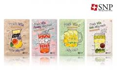 SNP화장품, 여름 지친 피부 위한 '싱싱 비타 젤리 마스크 4종' 출시
