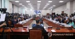 백운규 청문회, 與野 脫원전 논쟁 본격화
