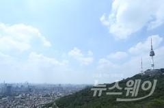 전국 맑고 한낮 '무더위' 이어져…남부·충북 미세먼지 '나쁨'