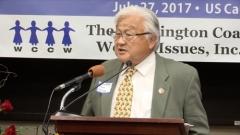 """혼다 미국 전 하원 의원 """"일본, 위안부 문제 분명한 사과해야"""""""