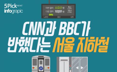 CNN과 BBC가 반했다는 서울 지하철