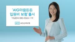 AIG손보, 질병‧상해 입원비 日10만원 보장