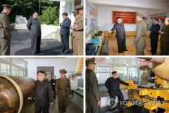 북한 김정은, 8일만에 공개 행보…ICBM 생산·배치 의지 드러내
