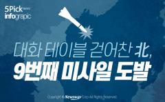 [인포그래픽 뉴스] 대화 테이블 걷어찬 北, 9번째 미사일 도발