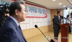 """김무성·정진석, '보수통합' 가능성 시사 """"활발히 논의 중"""""""