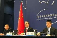 왕이 중국 외교부장, 北 탄도미사일 발사 비판