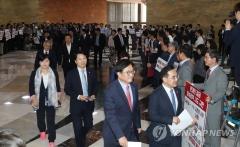 국회, 한국당 제외하고 본회의 강행…김이수 표결은 연기