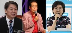 洪-막무가내, 安-양비론, 李-구설수…늪에 빠진 야당 리더십