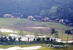 사드 발사대·장비 성주 기지 반입 완료…1개 포대 곧 운용