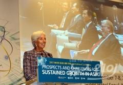 """리카르드 IMF 총재 """"아시아 경제, 기술혁신·여성노동력 제고 필요"""""""