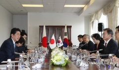 한일 정상, 대북전략 '대화보다 제재' 공감대