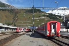 스위스 안데르마트서 열차 충돌···30명 부상