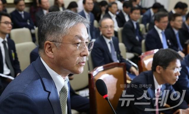 공정위 국감, 오뚜기의 일감몰아주기 의혹 해명하는 함영준 회장