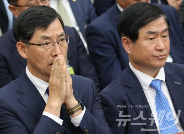 박병대 삼성전자 부사장-김형호 현대글로비스부사장, 국정감사 출석