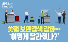 [인포그래픽 뉴스] 美행 보안검색 강화···'어떻게 달라졌나?'