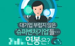 [카드뉴스] 대기업 부럽지 않은 '슈퍼벤처기업'들···연봉은?