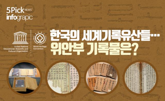 한국의 세계기록유산들…위안부 기록물은?