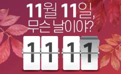 11월 11일, 무슨 날이야?