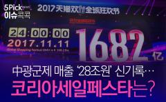 中광군제 매출 '28조원' 신기록…코리아세일페스타는?