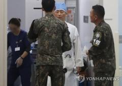 """'총상 귀순' 북한군 병사, 생명 지장 없어…""""후속 수술 필요"""""""