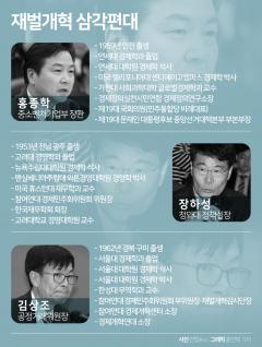 김상조·홍종학·장하성…진용 갖춘 재벌개혁 '쓰리톱'