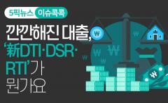 [이슈 콕콕]깐깐해진 대출···'新DTI·DSR·RTI'가 뭔가요