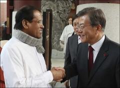 한국·스리랑카, EDCF 기존 3억불서 '5억불'로 증액