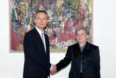 백운규, 체코 총리 내정자 만나 원전수주 박차
