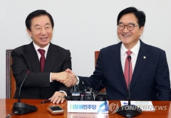 민주당, 한국당에 '드루킹 특검'-'판문점 선언' 빅딜 제안