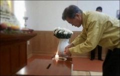 제천 화재 희생자 장례식장을 찾은 문재인 대통령