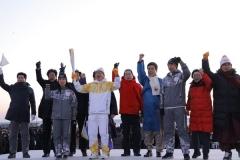 평창동계올림픽 성화, 포항서 2018년 봉송 시작
