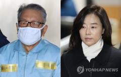 '문화·예술 블랙리스트' 2심서 김기춘 징역 4년…조윤선 징역 2년