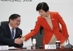 """김태년, 고용부 장관에 """"순천 잡월드 문제 삼지 말라"""" 쪽지"""