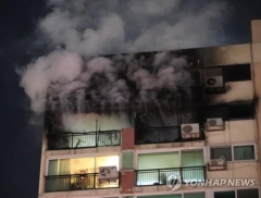 서울시 은평구 아파트서 화재···일가족 3명 사망