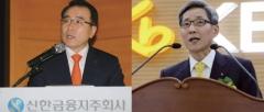 '알짜 매물' 롯데캐피탈 두고 맞선 윤종규 vs 조용병