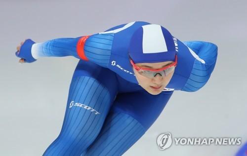 여자 스피드 스케이팅 1000m서 박승희 16위