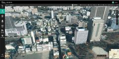 대구시, 전국 지자체 최초 3D지도 제공
