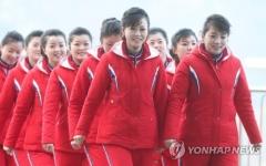 북한 응원·선수단, 오늘(26일) 경의선 육로로 귀환